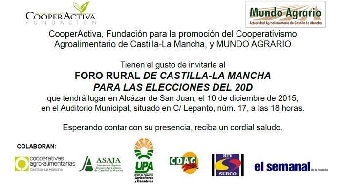 Elecciones 20D_agricultura