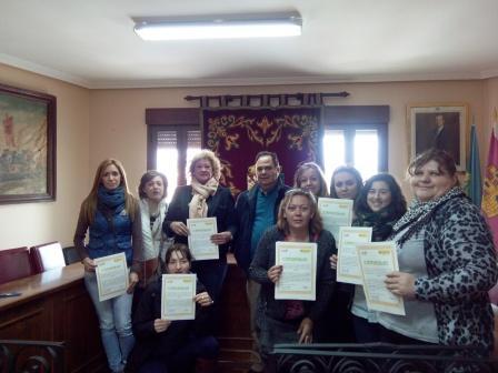 Entrega diplomas Belvís de la Jara