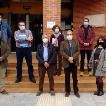 UPA Guadalajara con delegado de Agricultura