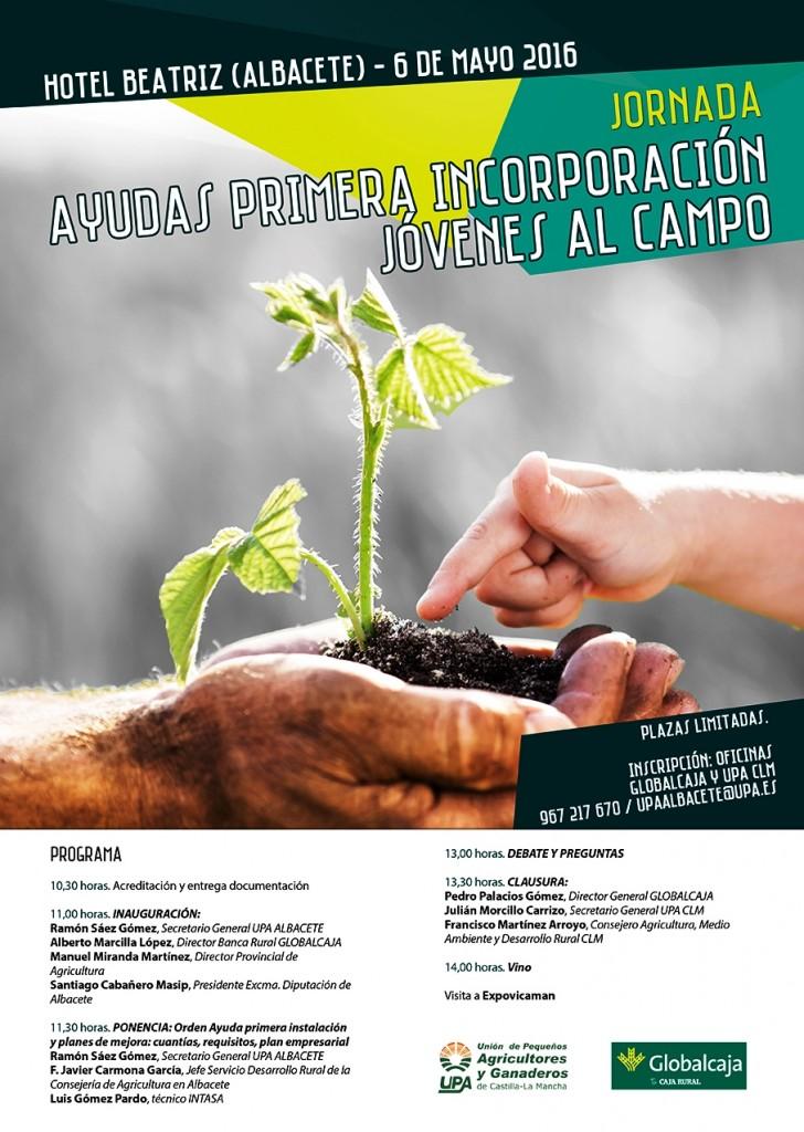 Cartel UPA Jornadas Albacete_6 mayo